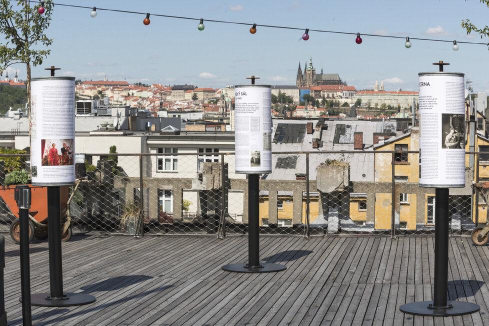 Střecha Lucerny slaví 110 let od dokončení první části budovy výstavou.