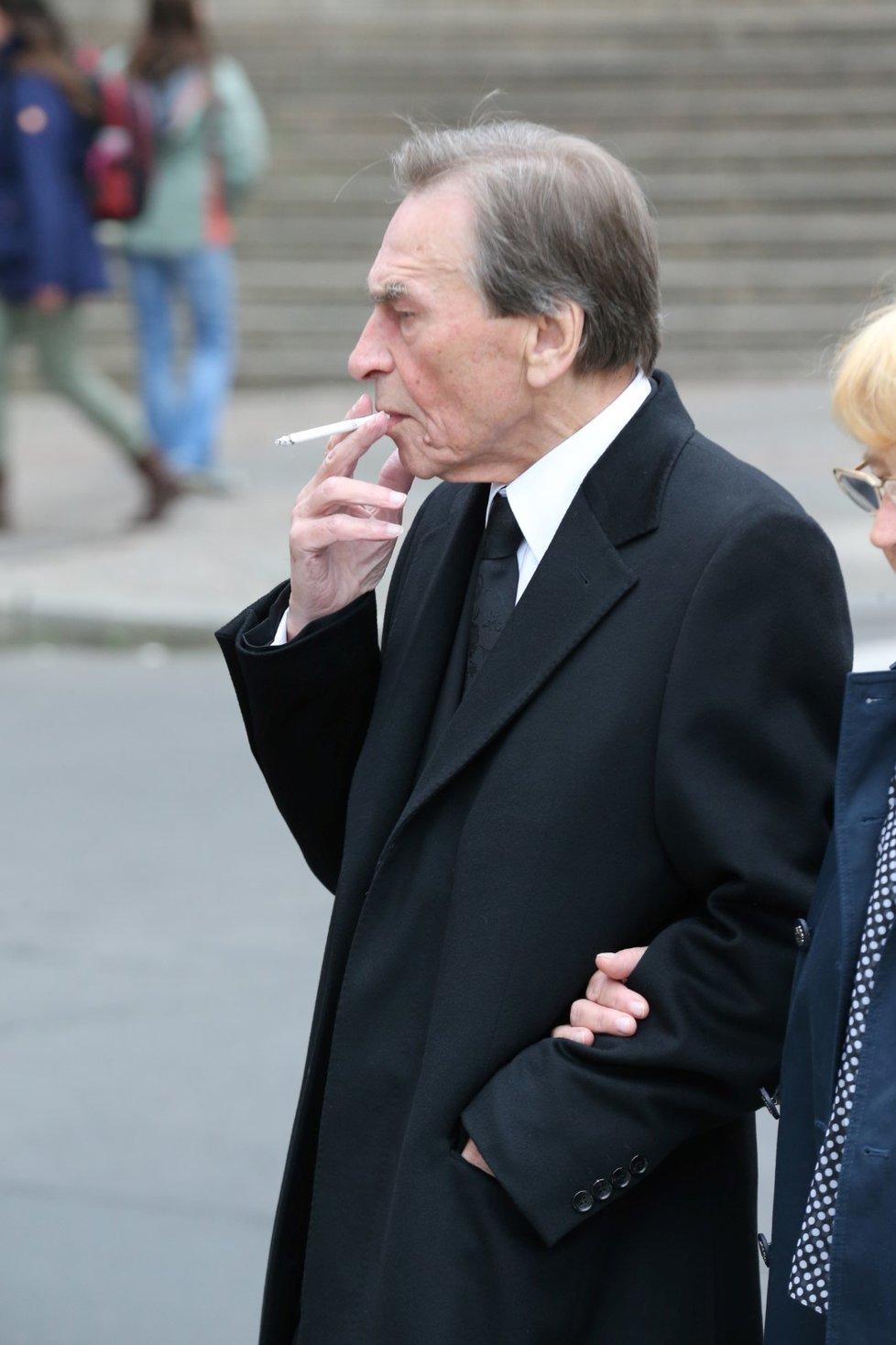 Pohřeb Václava Postráneckého: František Němec