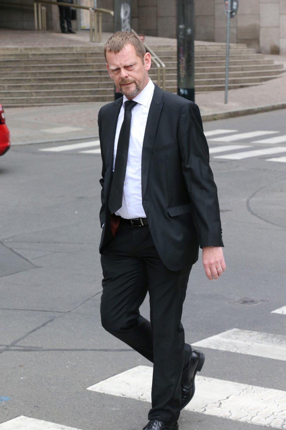 Pohřeb Václava Postráneckého: Martin Stránský