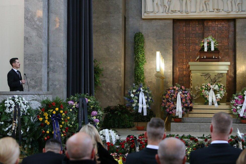 Rodinné rozloučení s Václavem Postráneckým: Syn Vilém
