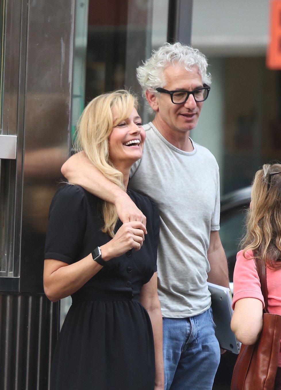 Pavlína Pořízková s partnerem Edem Solomonem v roce 2018