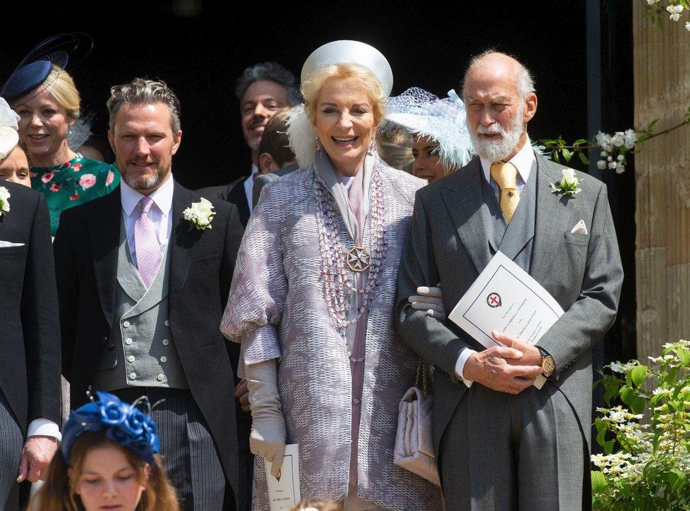 Marie Christina se narodila v Karlových Varech, Michael z Kentu je bratranec královny.