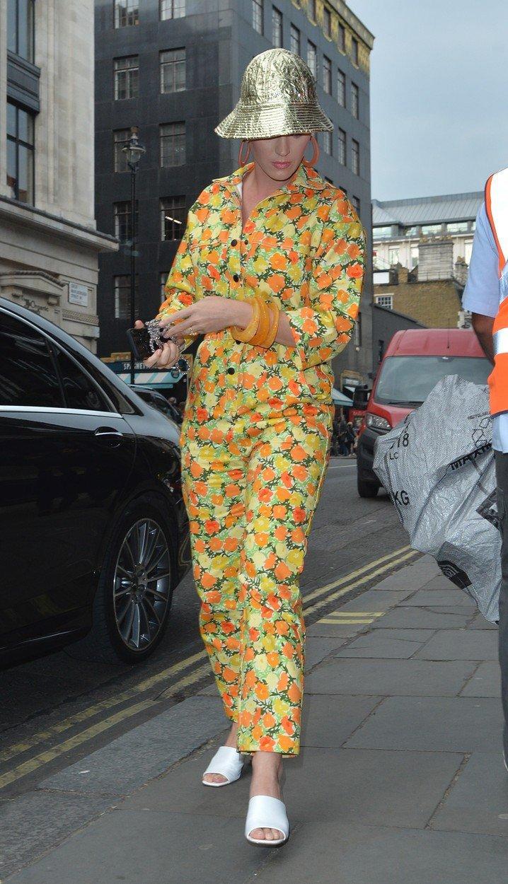 Katy Perryová v ulicích New Yorku