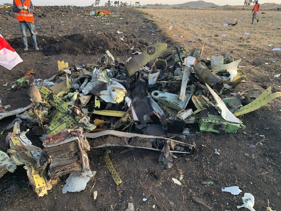 Francouzka, jejíž manžel zahynul při březnové nehodě letadla Boeing 737 MAX v Etiopii, zažalovala společnost Boeing o nejméně 276 milionů dolarů (21. 5. 2019)