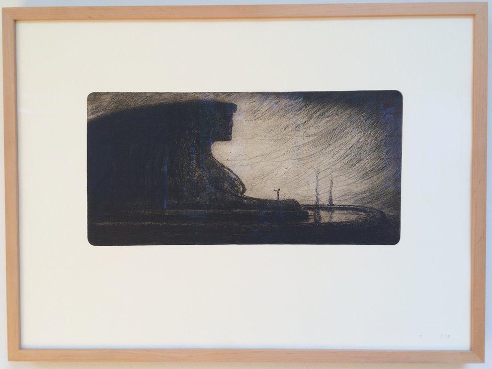 Když nefotil, věnoval se František Drtikol i kresbě nebo malbě. Toto je výsledek.