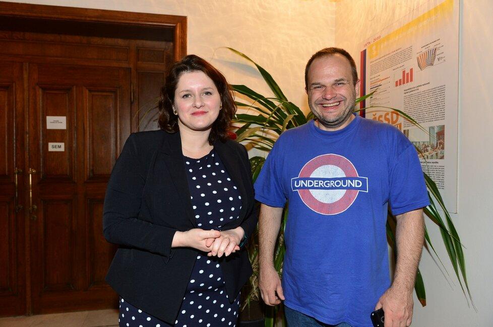 Jana Maláčová a Michal Šmarda ČSSD