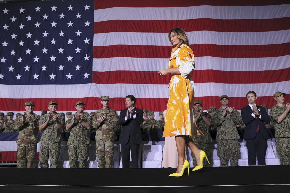 První dáma USA Melania Trrump