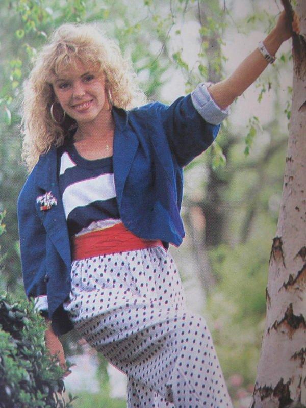 Kylie Minogue na počátku své kariéry