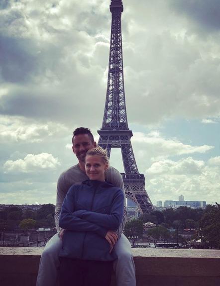 Lucie Šafářová a Tomáš Plekanec si užívají v romantické Paříži