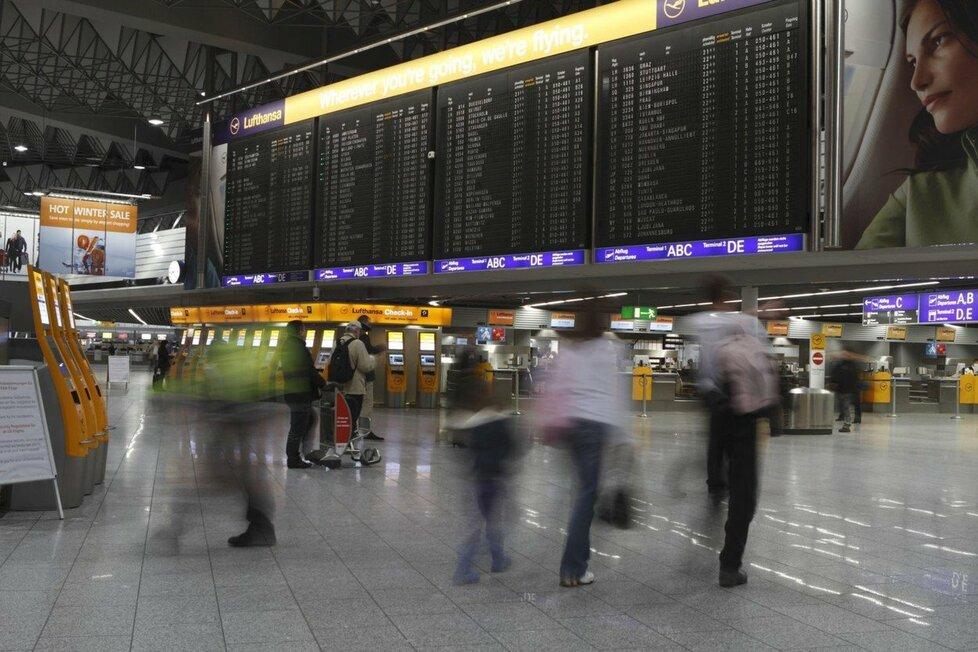 Letiště Frankfurt nad Mohanem je největší německé letiště