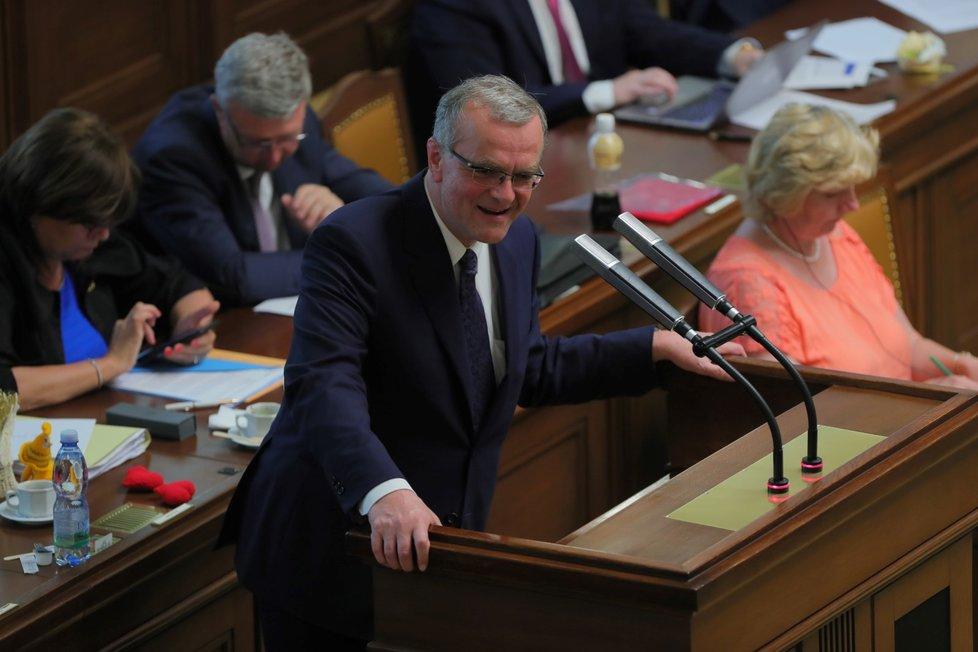 Miroslav Kalousek řeční v Poslanecké sněmovně (4. 6. 2019)