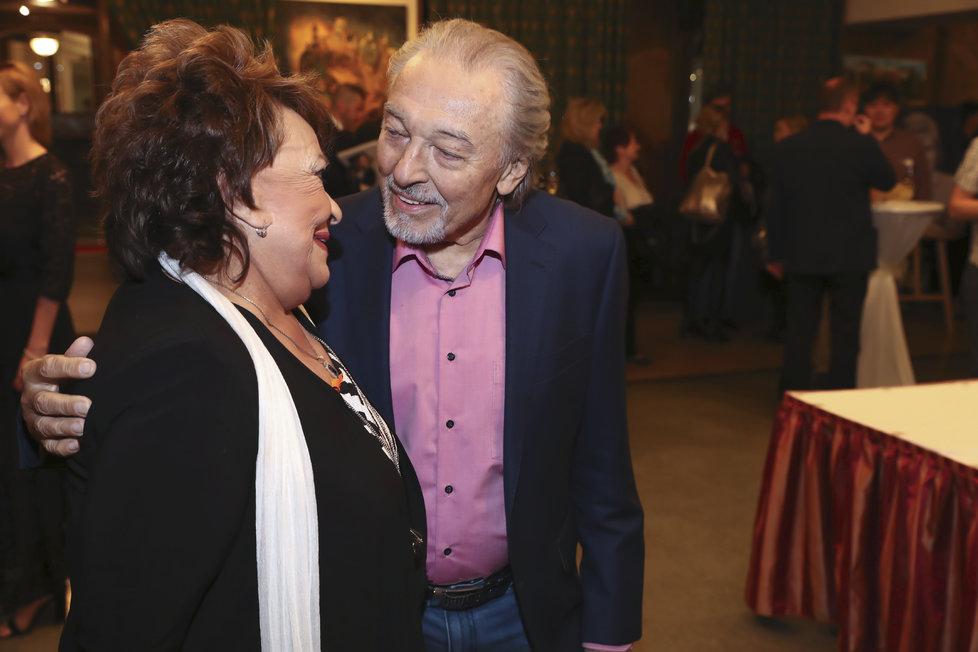 Jiřina Bohdalová a Karel Gott