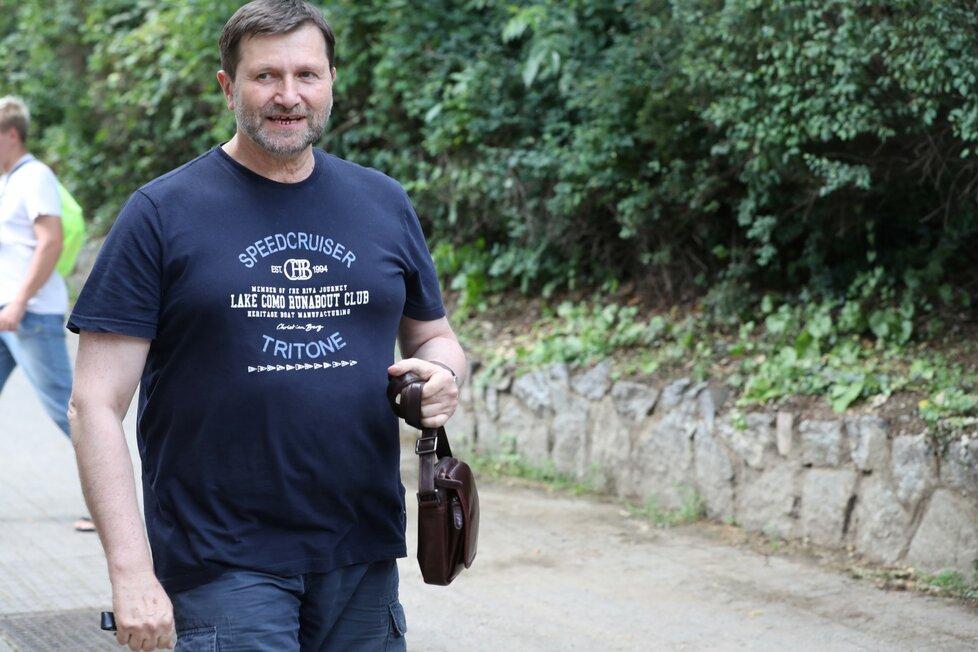 Oslava narozenin Karla Gotta: Principál divadla Jan Hrušínský