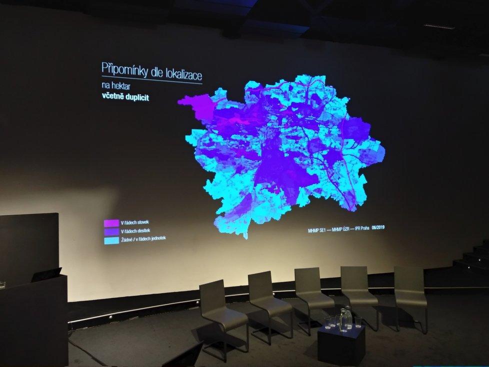 V CAMPu byly představené statistiky připomínek a kde v Praze se připomínkovalo nejvíc.