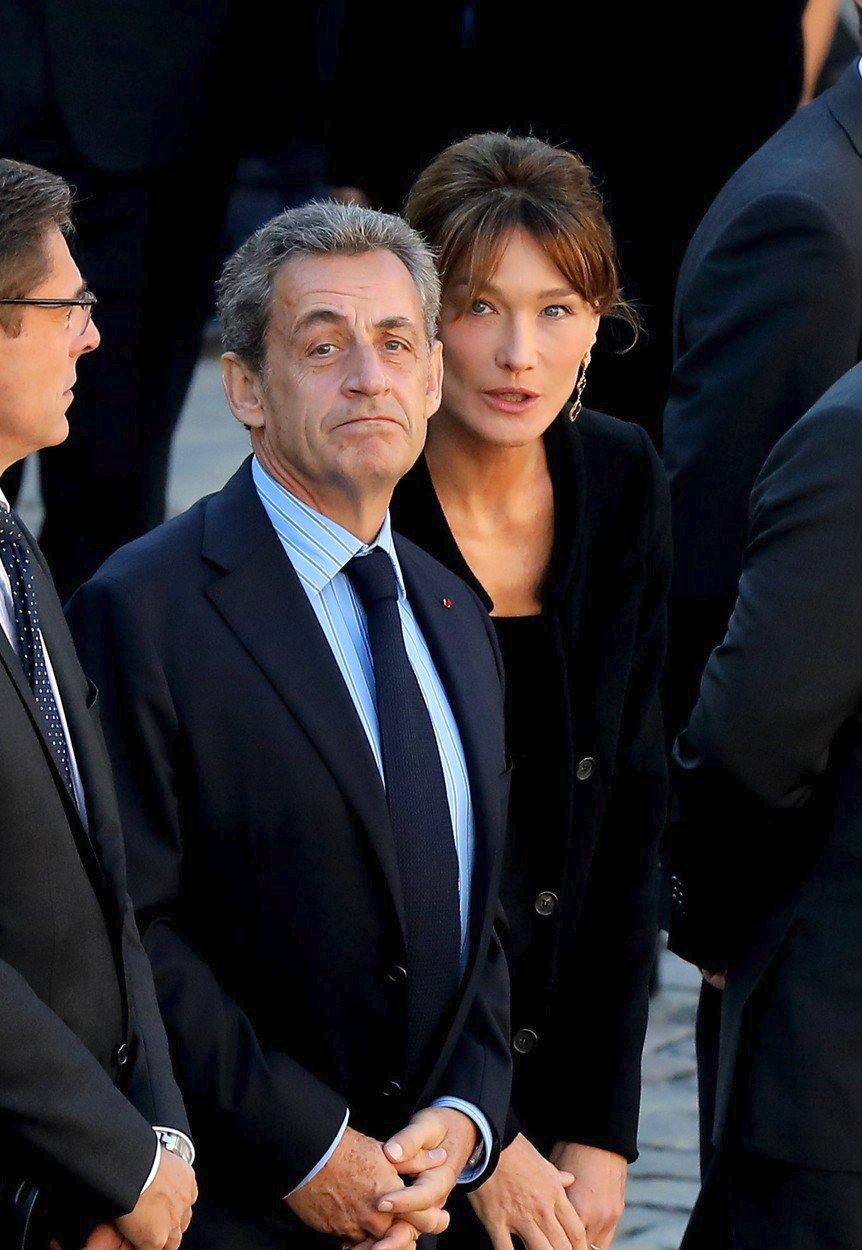 Sarkozy s Carlou Bruniovou