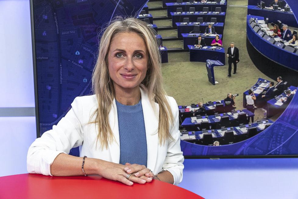 Europoslankyně Dita Charanzová (za ANO) byla hostem pořadu Epicentrum na Blesk.cz