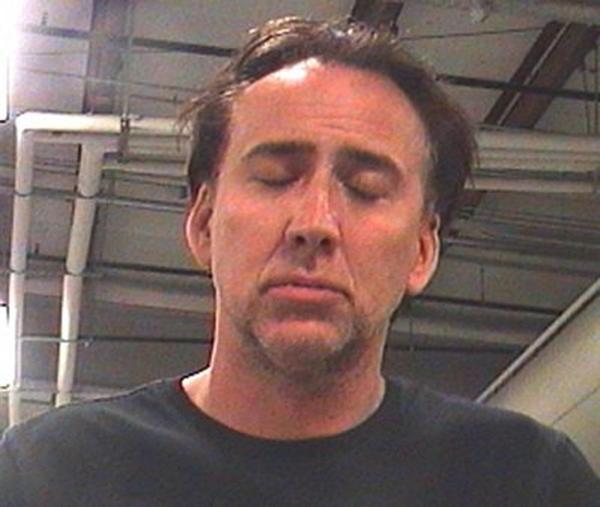 Nicolas Cage po zatčení