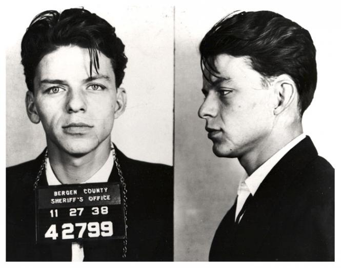 Frank Sinatra po zatčení