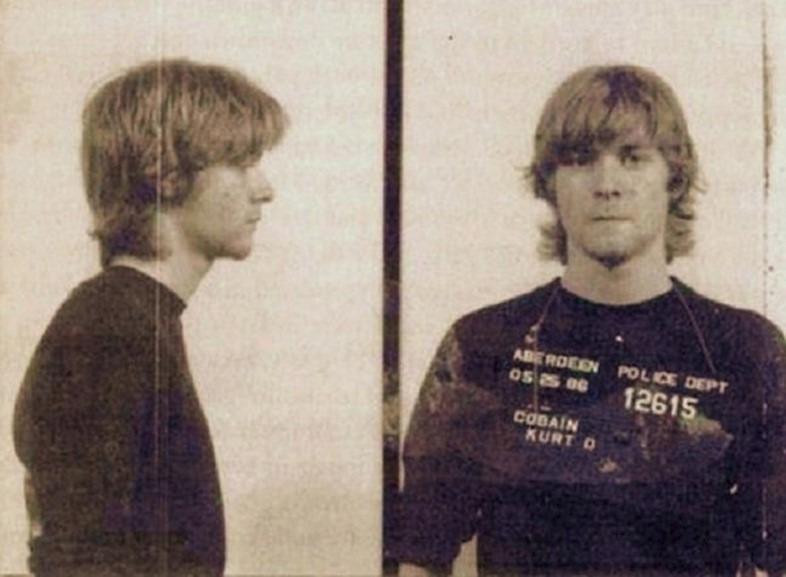 Kurt Cobain po zatčení