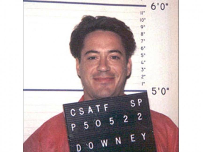 Robert Downey Jr. po zatčení