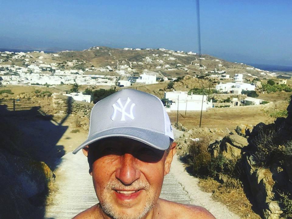 Premiér Andrej Babiš na dovolené v Řecku (5. 8. 2018)