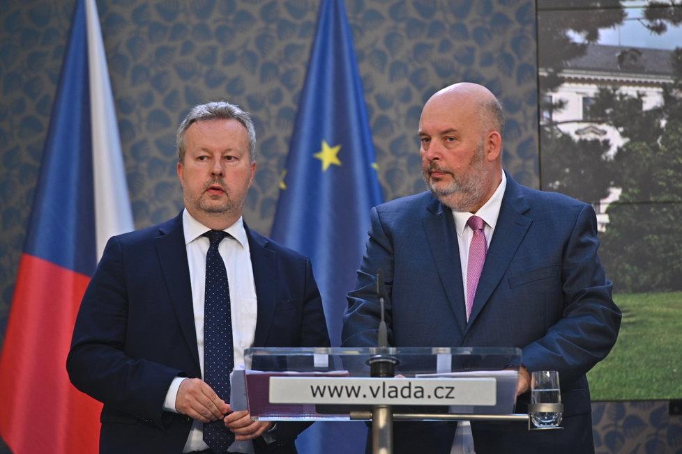Jednání vlády: Richard Brabec (ANO) s Miroslavem Tomanem (ČSSD)