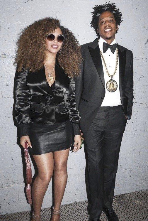 Beyoncé (38) a Jay-Z (50), rozdíl 12 let