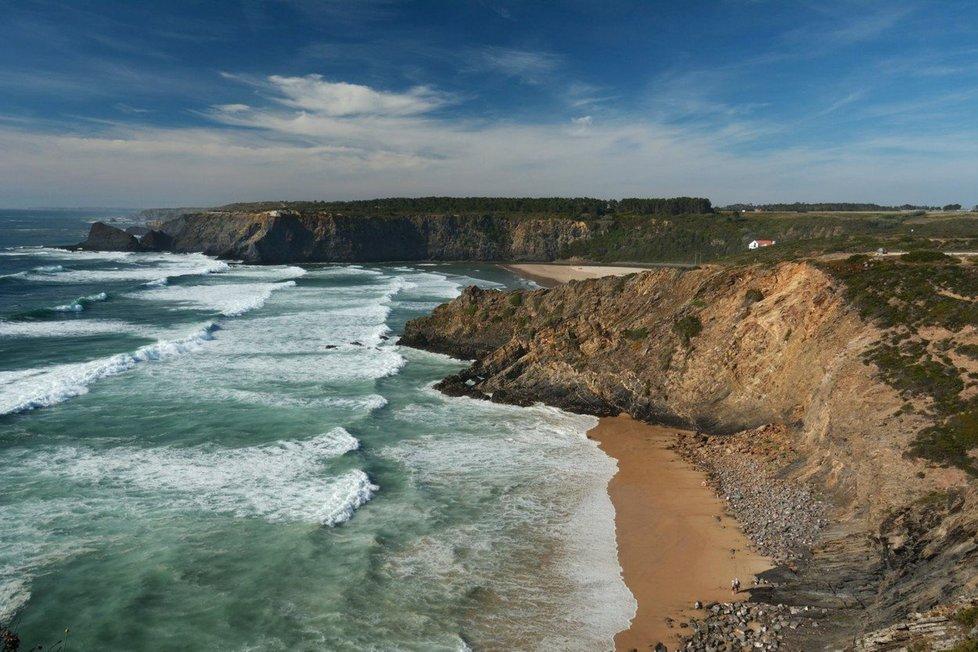 Pláž Adegas v Portugalsku