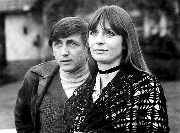 Evelyna Steimarová s Jiřím Menzelem