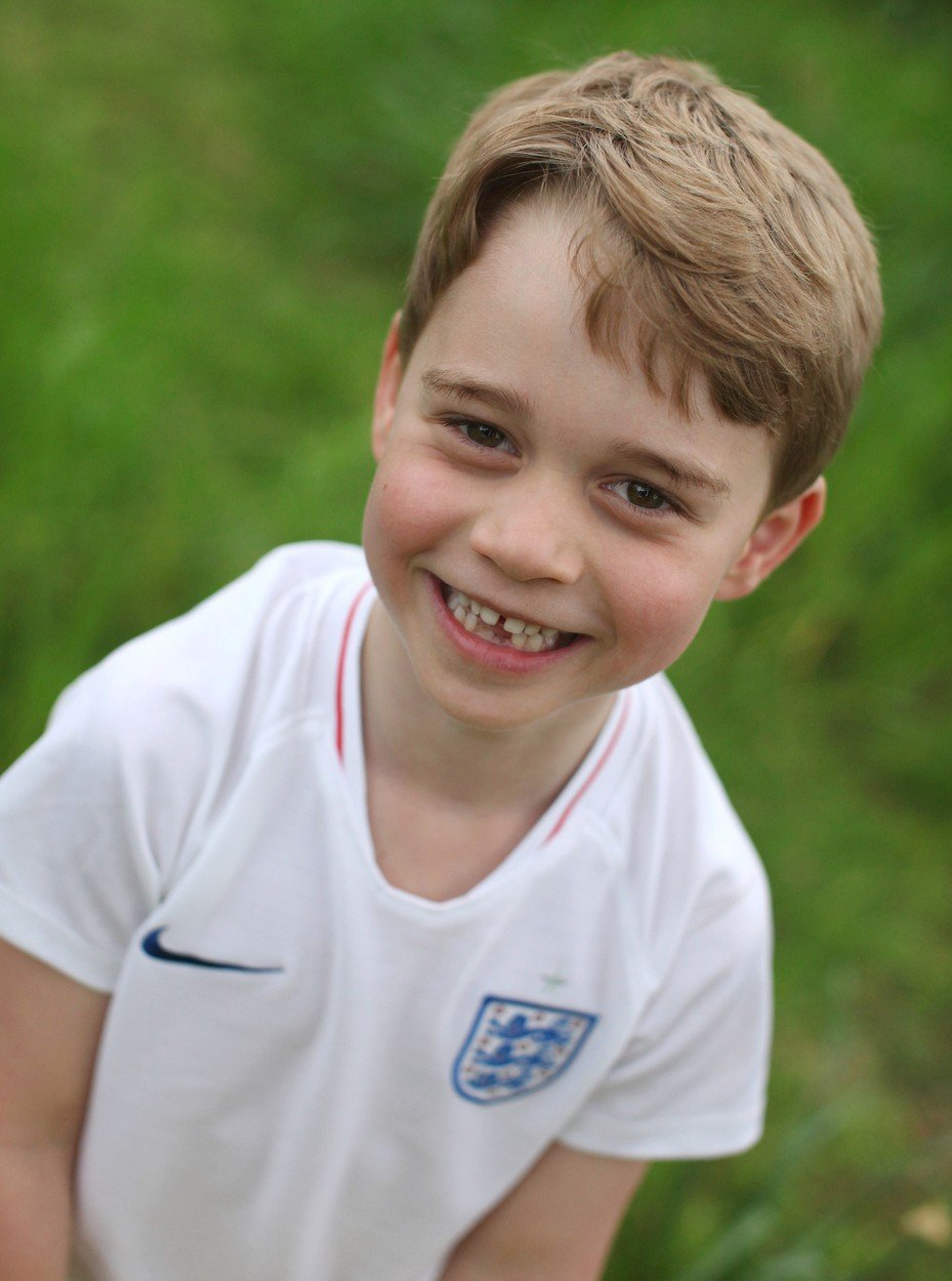 Princ George v roce 2019