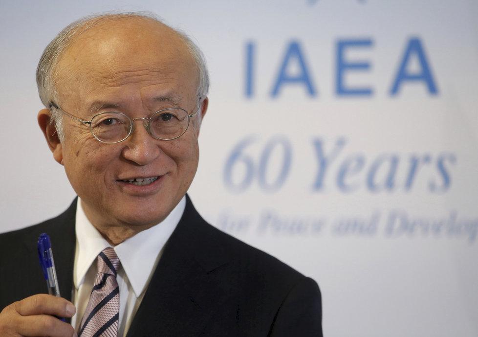 Zemřel šéf Mezinárodní agentury pro atomovou energii (MAAE) Jukija Amano