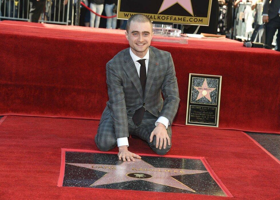 Daniel Radcliffe má hvězdu na chodníku slávy