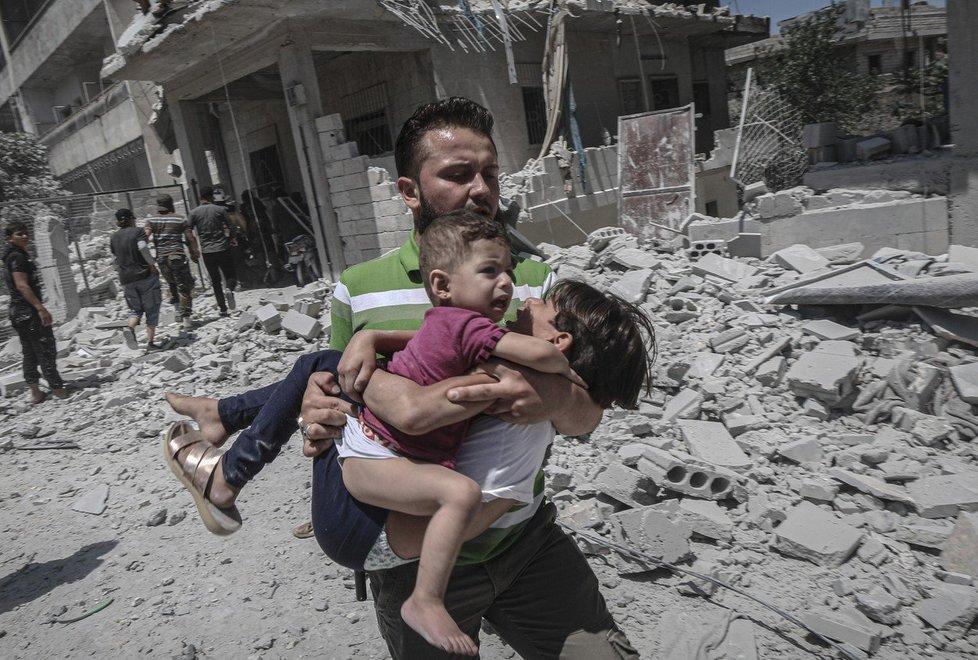 Červencový nálet v Idlibu