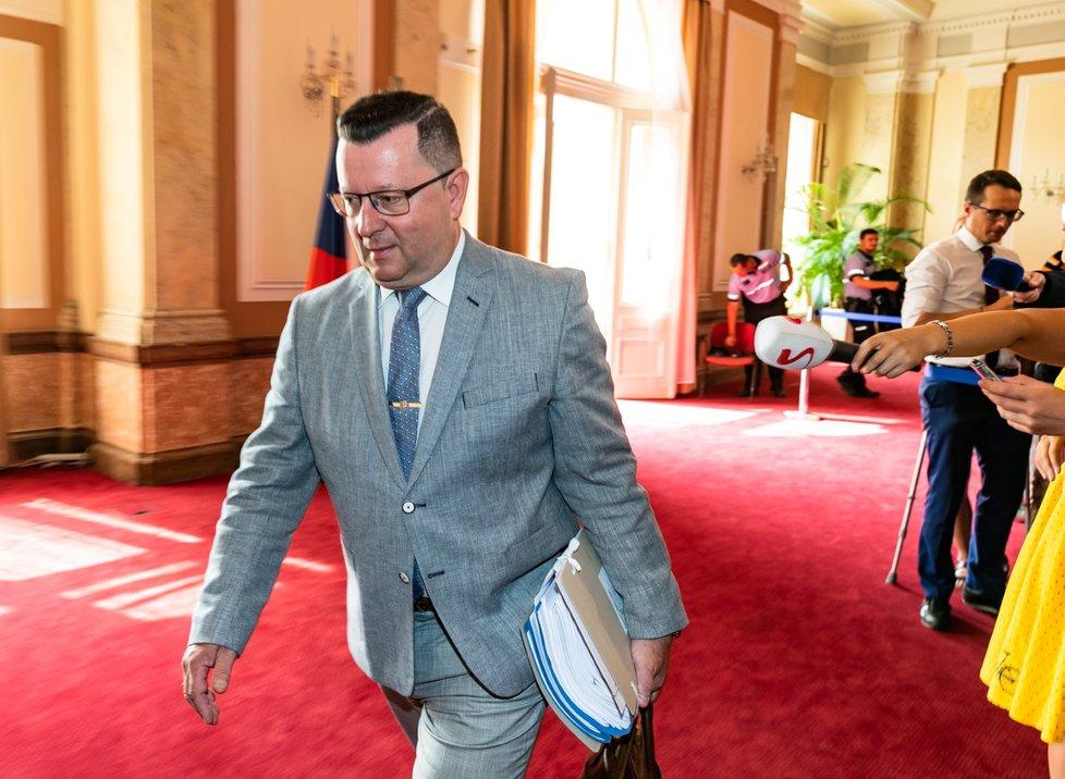 Exministr kultury Antonín Staněk (ČSSD)