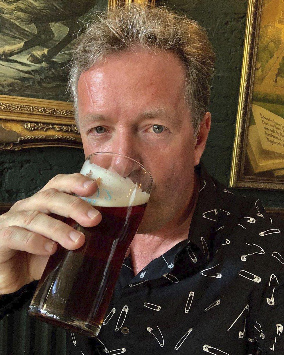 Moderátor Piers Morgan