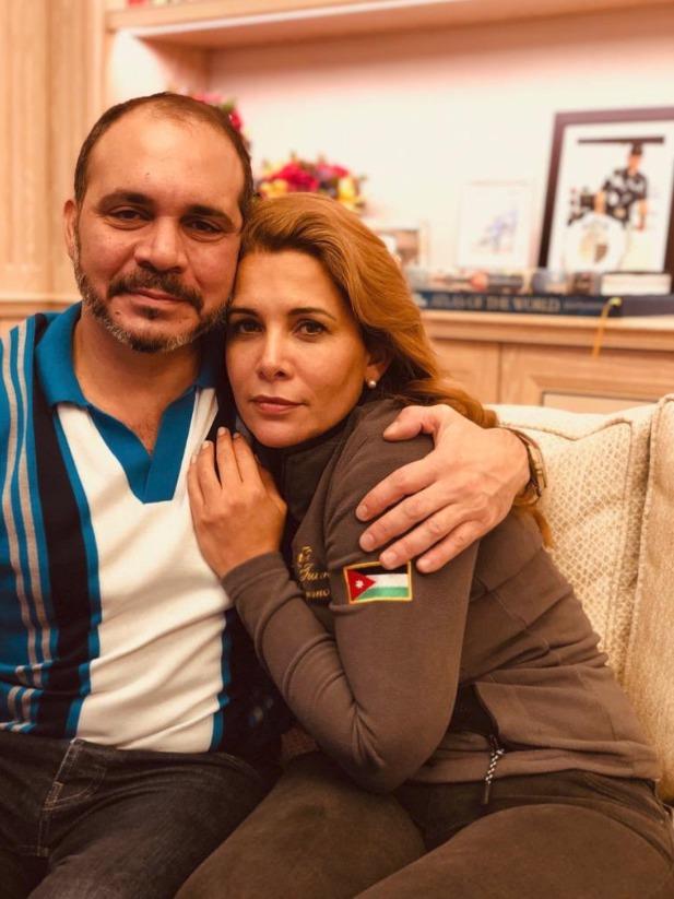 Jordánští královští sourozenci: princ Alí bin al-Husajn a princezna Hajá