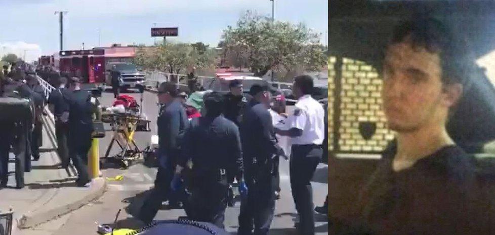 Patrick Crusius (21) postřílel v obchodním domě Walmart v El Pasu v Texasu dvě desítky lidí