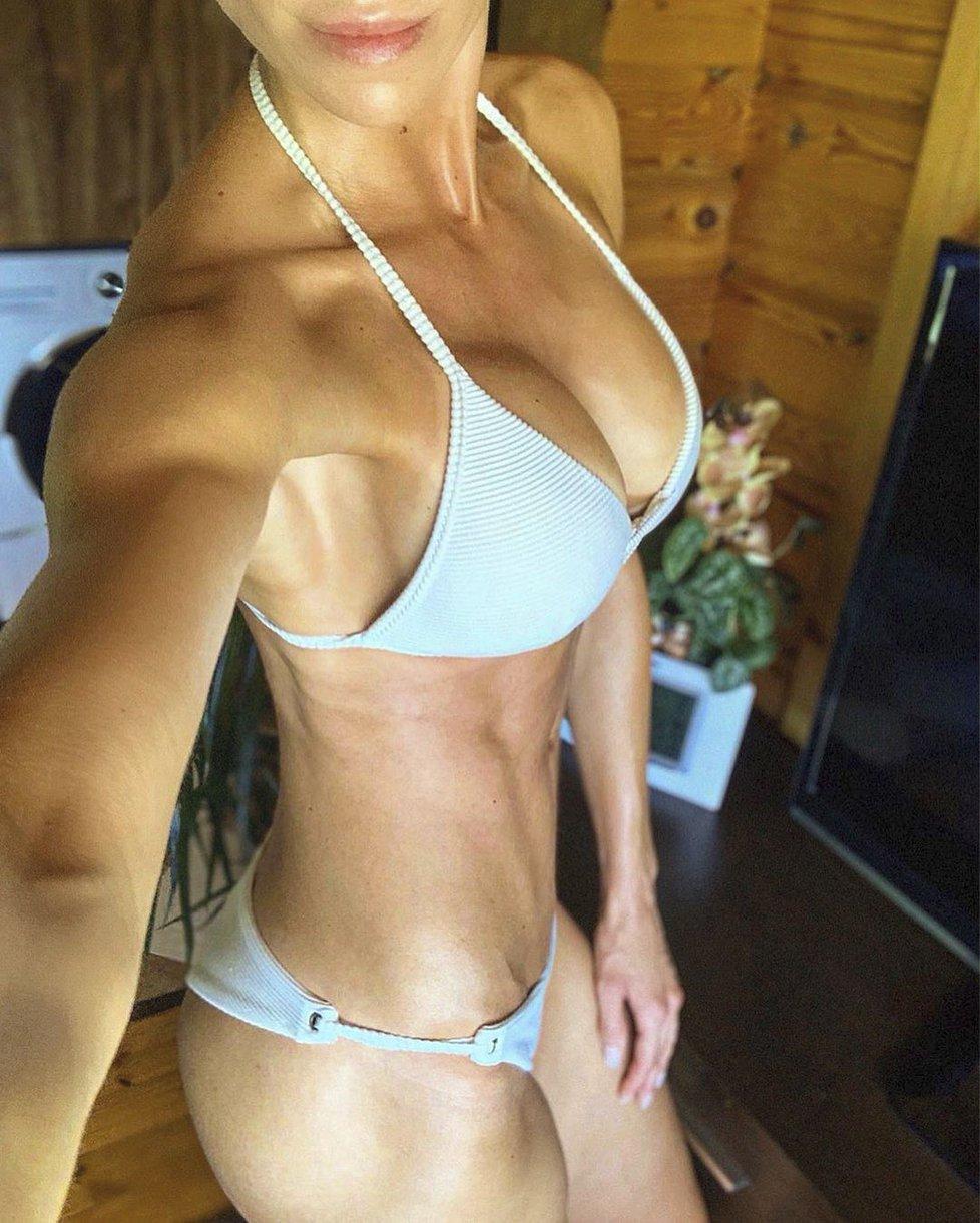 Hanka Reinders Mašlíková má tělo pevné jako skála