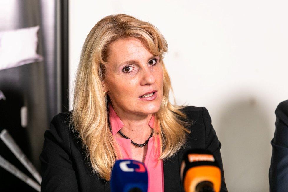 Národní protidrogová koordinátorka Jarmila Vedralová