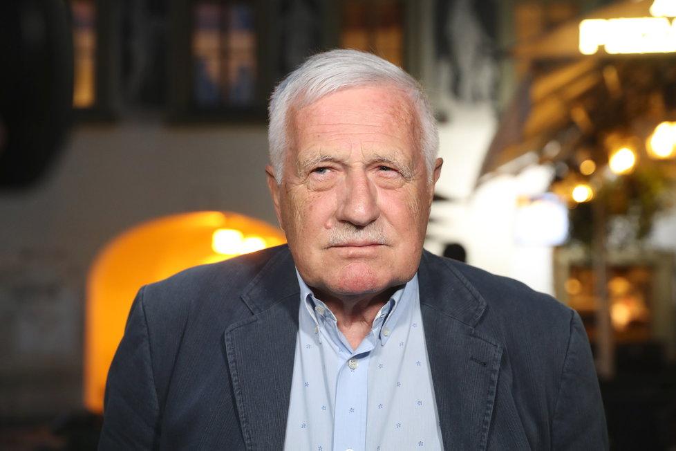 Václav Klaus - Řád Bílého lva občanské skupiny I. třídy