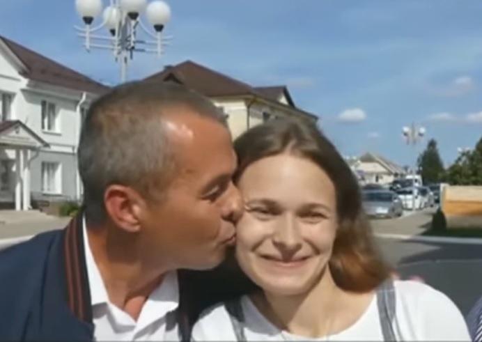 Julie s otcem