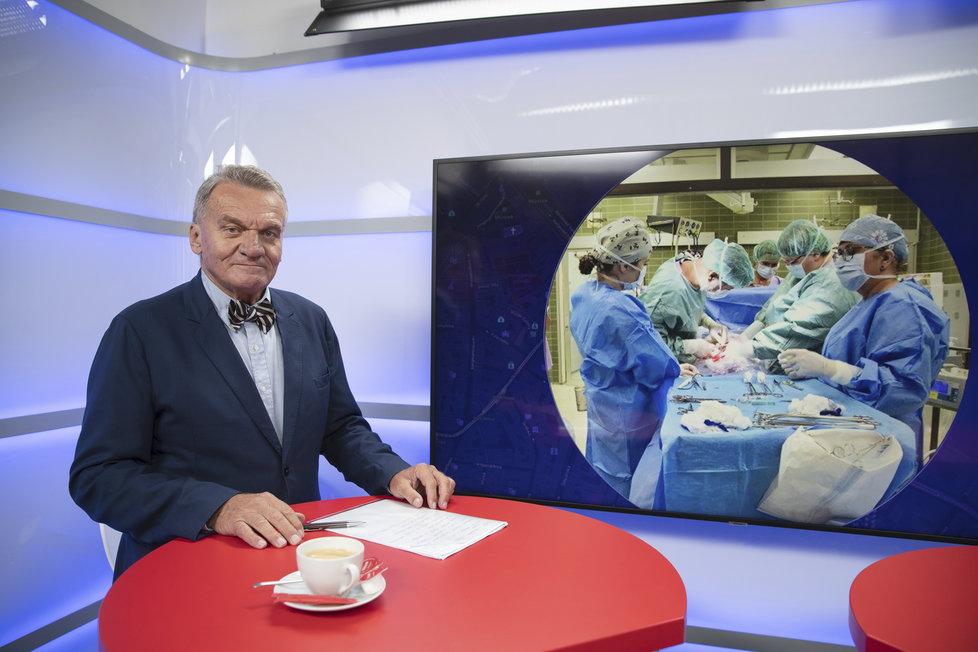 Bohuslav Svoboda mluvil v Epicentru Blesku o jedinečném výkonu porodníků v Brně