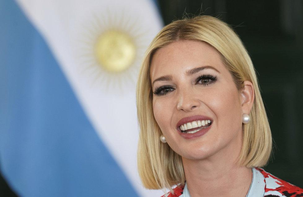 Ivanka Trumpová na zahraniční cestě v Jižní Americe