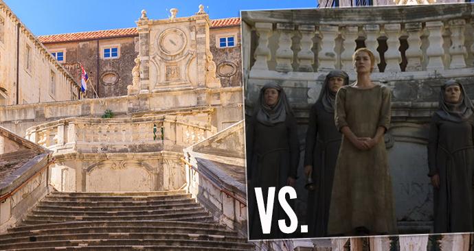 Ulička hanby královny Cersei: Jezuitské schodiště