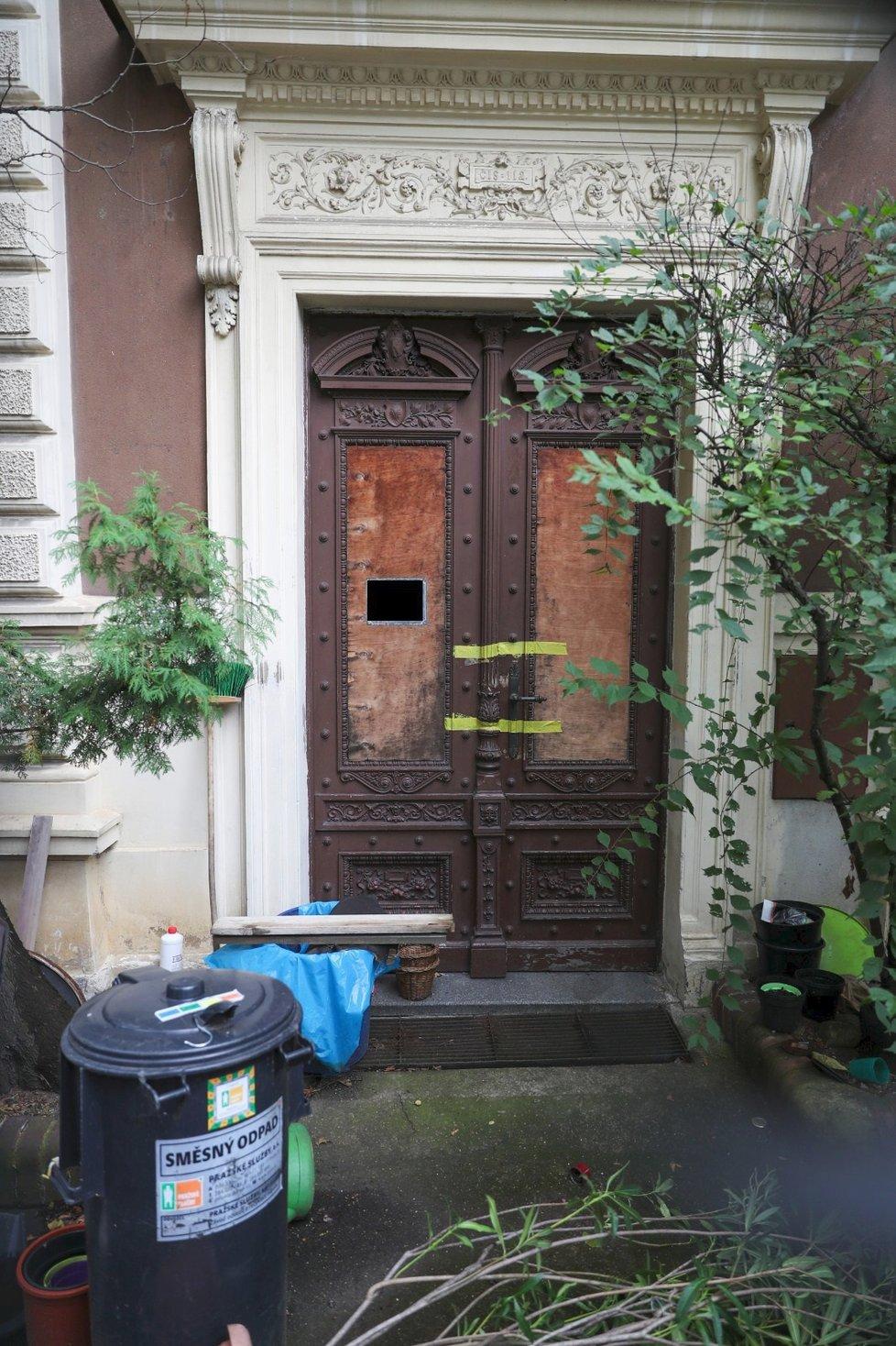 V této vile v Praze 6 Marie a Přemysl spolu dlouhodobě žili.