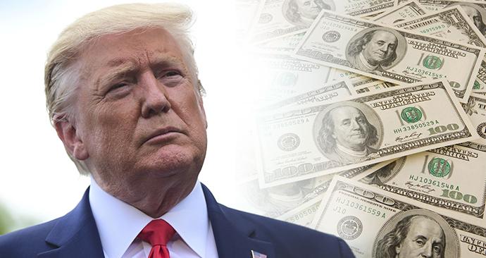 Trump plánuje vypomoci Američanům kvůli ekonomickým dopadům nového koronaviru hotovostí.