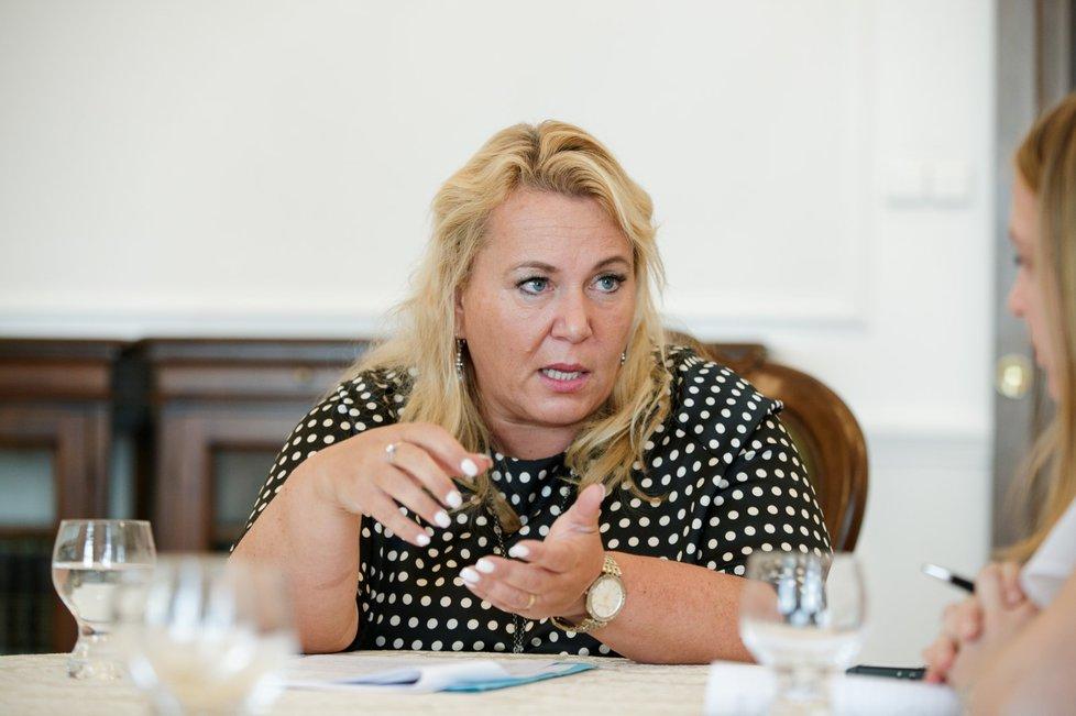 Ministryně pro místní rozvoj Klára Dostálová (ANO) v rozhovoru pro Blesk Zprávy o sociálním bydlení