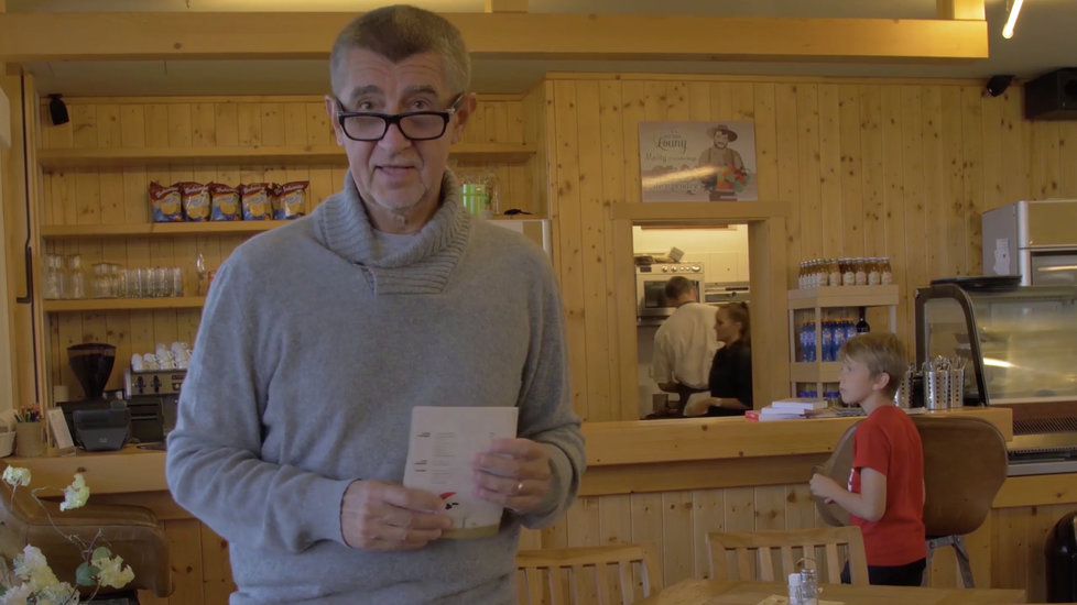 Premiér a šéf hnutí ANO Andrej Babiš na Čapím hnízdě