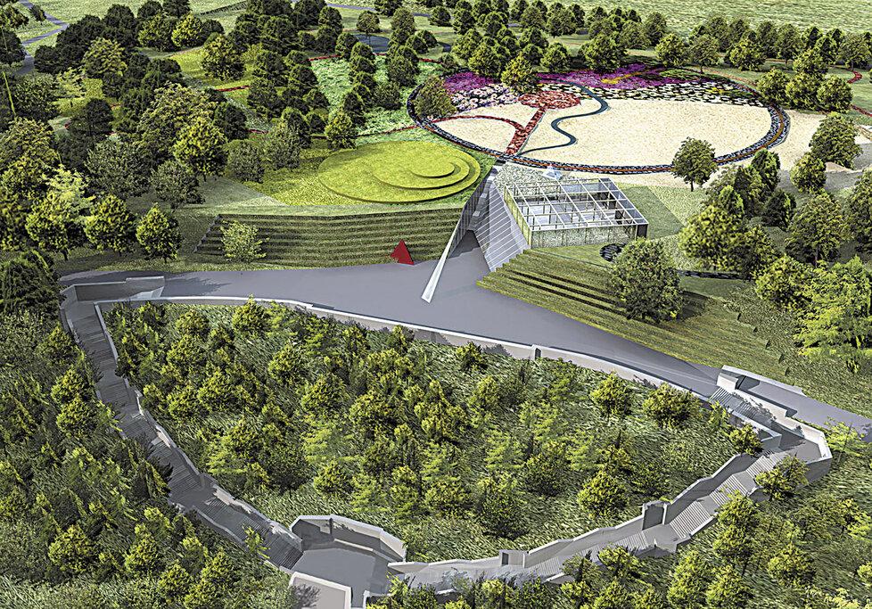 Swarovski chtěl vybudovat na místě pomníku Krystalický vesmír.