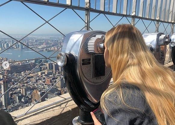Premiérova žena Monika Babišová se na instagramu pochlubila fotkami z USA: Skvostný výhled z Empire State Building